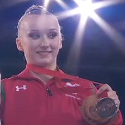 Another Bronze for Georgie